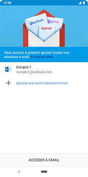 Google Pixel 3 - E-mail - 032c. Email wizard - Outlook - Étape 12