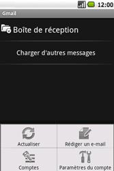 Samsung I5700 Galaxy Spica - E-mail - Envoi d