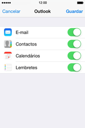 Apple iPhone 4S iOS 8 - Email - Adicionar conta de email -  8
