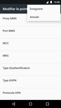 Motorola Moto Z Play - Internet - Configuration manuelle - Étape 16