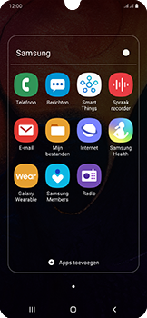 Samsung Galaxy A50 - SMS - handmatig instellen - Stap 4