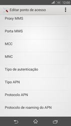 Sony Xperia E4G - Internet (APN) - Como configurar a internet do seu aparelho (APN Nextel) - Etapa 12