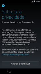 Motorola Moto G - Primeiros passos - Como ativar seu aparelho - Etapa 6