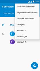 Alcatel Pixi 4 (5) 4G (5045X) - Contacten en data - Contacten kopiëren van toestel naar SIM - Stap 5