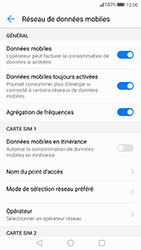 Huawei P10 Lite - Internet et connexion - Désactiver la connexion Internet - Étape 5