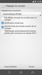 Sony D2303 Xperia M2 - E-mail - Configuration manuelle - Étape 16