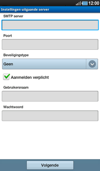 Samsung P1000 Galaxy Tab - E-mail - Instellingen KPNMail controleren - Stap 17