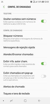 Samsung Galaxy J6 - Chamadas - Como bloquear chamadas de um número específico - Etapa 6