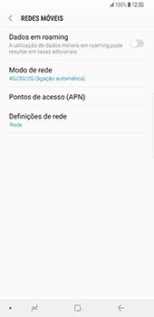 Samsung Galaxy S9 Plus - Internet no telemóvel - Como ativar 4G -  8
