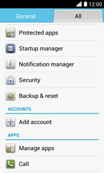 Huawei Ascend Y330 - Device maintenance - How to do a factory reset - Step 5