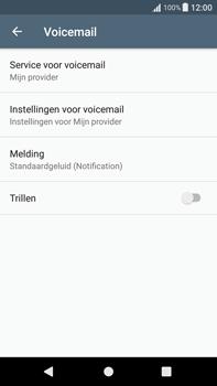 Sony Xperia XA1 Plus (G3421) - Voicemail - Handmatig instellen - Stap 6