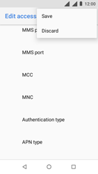 Nokia 1 - Internet - Manual configuration - Step 17