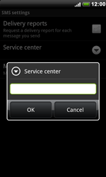HTC S510e Desire S - SMS - Manual configuration - Step 7