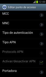 Samsung S7560 Galaxy Trend - Internet - Configurar Internet - Paso 12
