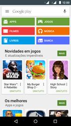 Motorola Moto E (2ª Geração) - Aplicativos - Como baixar aplicativos - Etapa 4