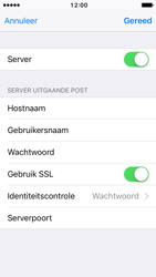 Apple iPhone 5c iOS 10 - E-mail - Account instellen (POP3 met SMTP-verificatie) - Stap 19