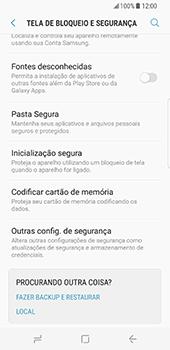 Samsung Galaxy S8 - Segurança - Como ativar o código PIN do cartão de telemóvel -  5