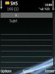 Nokia E75 - Mms - Envoi d
