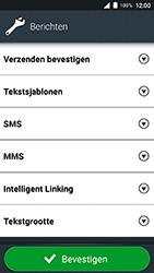 Doro 8035-model-dsb-0170 - SMS - Handmatig instellen - Stap 6