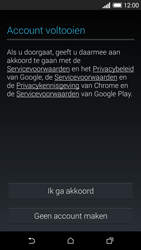 HTC Desire 610 - Applicaties - Account aanmaken - Stap 14