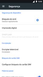 Nokia 5 - Segurança - Como ativar o código de bloqueio do ecrã -  5