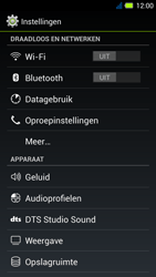 Acer Liquid E3 - Voicemail - Handmatig instellen - Stap 4
