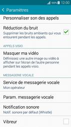 Samsung A300FU Galaxy A3 - Messagerie vocale - configuration manuelle - Étape 8