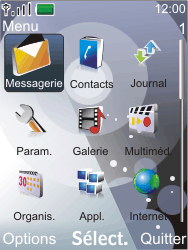 Nokia 7210 supernova - E-mail - Configuration manuelle - Étape 3