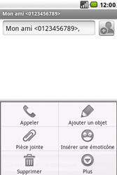 LG GW620 - MMS - envoi d'images - Étape 6