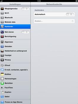 Apple iPad 4th generation - Netwerk - gebruik in het buitenland - Stap 7