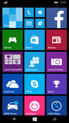 Microsoft Lumia 535 - Applicaties - Account instellen - Stap 2