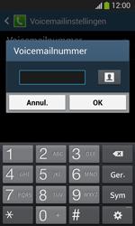Samsung Galaxy S3 Mini VE (I8200) - Voicemail - Handmatig instellen - Stap 8