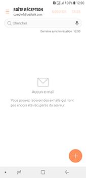 Samsung Galaxy J6 - E-mails - Ajouter ou modifier votre compte Outlook - Étape 6