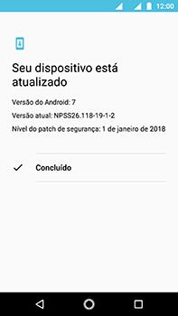 Motorola Moto Z2 Play - Funções básicas - Como atualizar o software do seu aparelho - Etapa 7