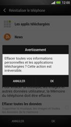 HTC One - Aller plus loin - Restaurer les paramètres d'usines - Étape 7