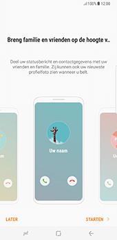 Samsung Galaxy S8 Plus (G955) - Contacten en data - Contacten kopiëren van toestel naar SIM - Stap 4