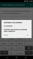 Sony Xperia E4 - Aplicações - Como configurar o WhatsApp -  7