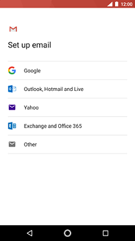Nokia 6 (2018) - E-mail - Manual configuration (gmail) - Step 7