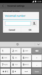 Huawei Ascend G6 - Voicemail - Manual configuration - Step 8