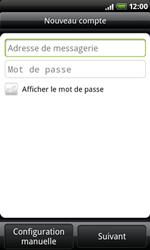 HTC A8181 Desire - E-mail - Configurer l