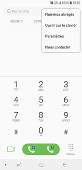 Samsung Galaxy A6 - Messagerie vocale - configuration manuelle - Étape 6