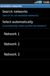 Samsung S5660 Galaxy Gio - Network - Usage across the border - Step 9
