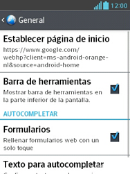 LG Optimus L3 II - Internet - Configurar Internet - Paso 22