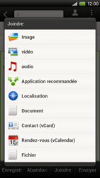 HTC S720e One X - E-mail - envoyer un e-mail - Étape 9