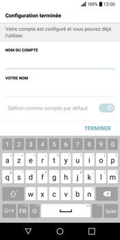 LG Q6 - E-mail - Configuration manuelle - Étape 19