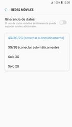 Samsung Galaxy S7 - Android Nougat - Red - Seleccionar el tipo de red - Paso 7