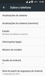 Alcatel Pixi 4 - Primeiros passos - Como encontrar o número de IMEI do seu aparelho - Etapa 5