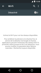 Motorola Moto E (1st Gen) (Lollipop) - Internet et connexion - Accéder au réseau Wi-Fi - Étape 5