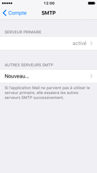 Apple iPhone SE - iOS 10 - E-mail - Configuration manuelle - Étape 24