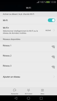 Huawei Mate S - Wifi - configuration manuelle - Étape 4